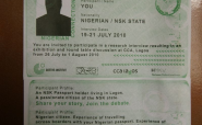 The Nigerian Connection: On NSK Passports as Escape and Entry Vehicles