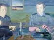 Michal Pěchouček, Sběratel (část cyklu), 2003, olej na plátně, foto: Archiv VVP AVU