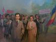 Eugen Palade, 1. Máj (1 Mai), 1986, olej na plátně