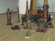 Přehlídka řemeslných darů manželům Ceauşescuovým v hale bukurešťského MNAC