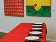 Marek Sobczyk, Publicistický obraz, 1981; Marek Sobczyk, Ganža, 2005;  Andrej Filippov, Tajná večeře, 2003, instalace