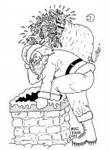 Mike Diana - Santa Claus is Cumming