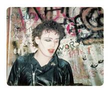 Simon Barker aka Six, Adam Ant, Andy Warren, Dressing Room - The Marquee Club