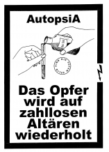 Autopsia poster from Weltuntergang Show: Das opfer