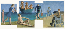 Stu Mead: Beach Scene