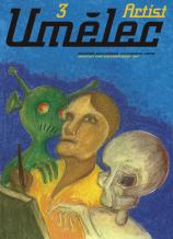 Ivan Mečl: Poster of magazine Umelec 3/1997 cover